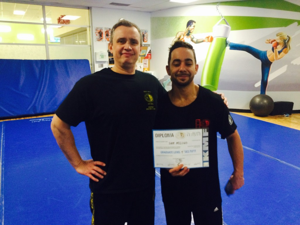 Sam Miloud, our Instructor in Nepean, new G4