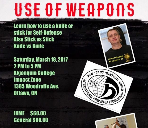 Krav Maga Use Of Weapons