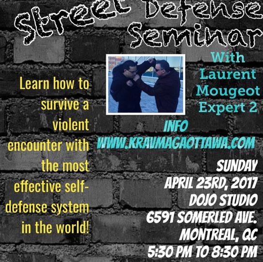 Krav Maga Street Defense Seminar